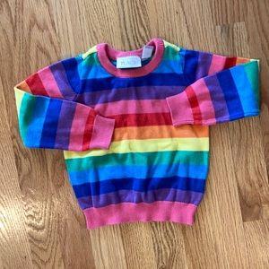 Super cute rainbow sweater!